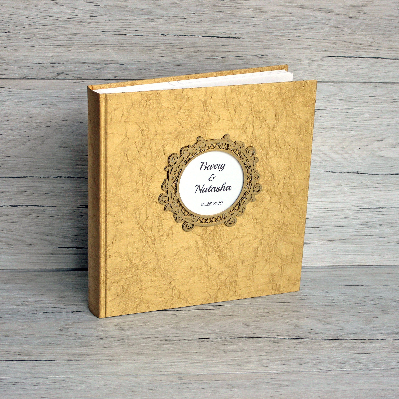 Personalised luxury scrapbook photo album guestbook 50th birthday present