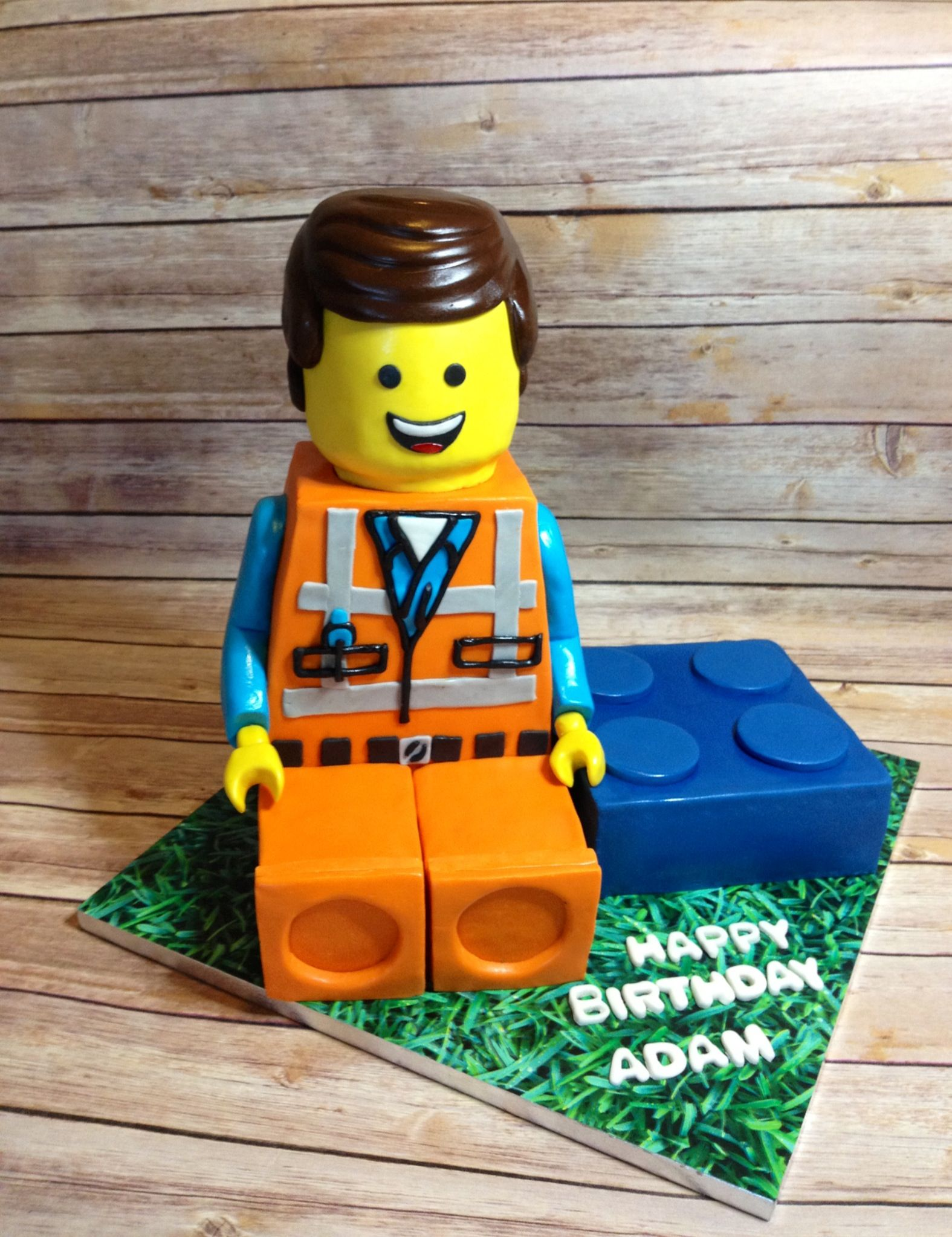Lego man cake Lego man cake, Cakes for men, Lego man