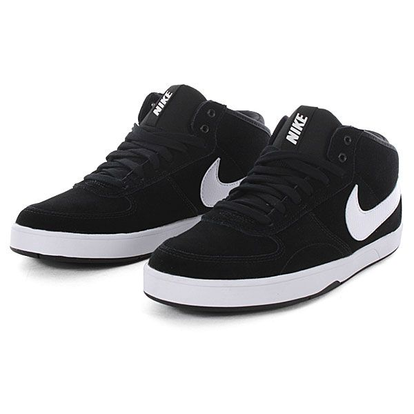f3660bf54f13 Nike 6.0 Mavrk Mid 3 (Black White) omg i must buy these to damn sexy ...