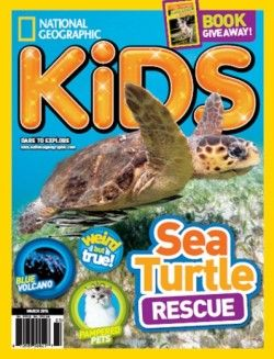 Download National Geographic Kids – March 2015 Online Free