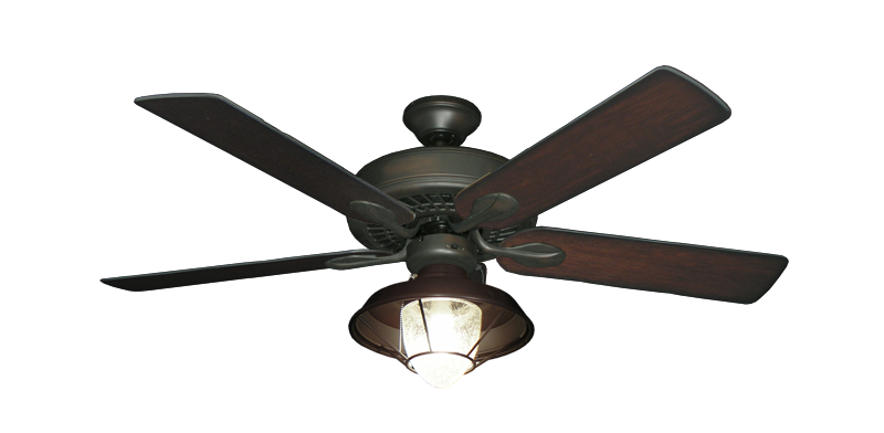 Meridian Oil Rubbed Bronze Ceiling Fan With 52 Distressed