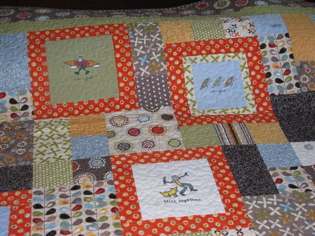 blocks - Life is Good Quilt