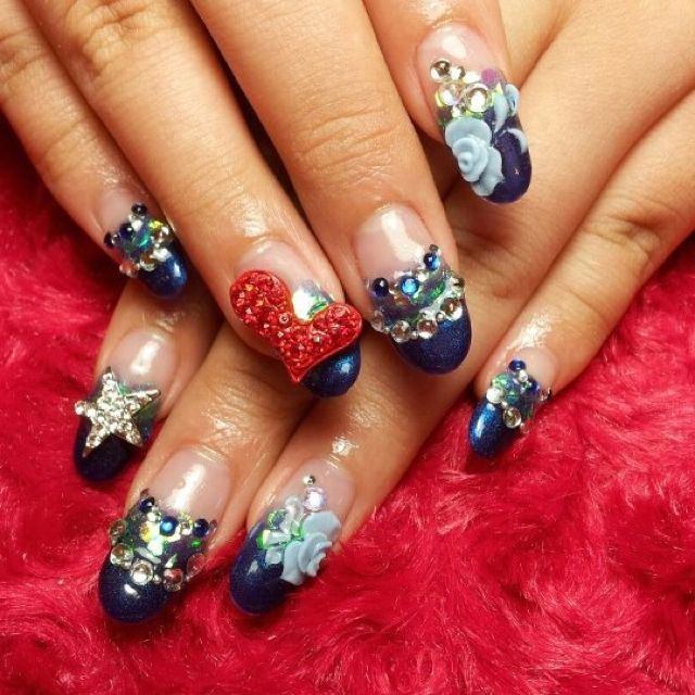Come in Luxy nail salon today get your nails all Bling out!! 9310 S ...