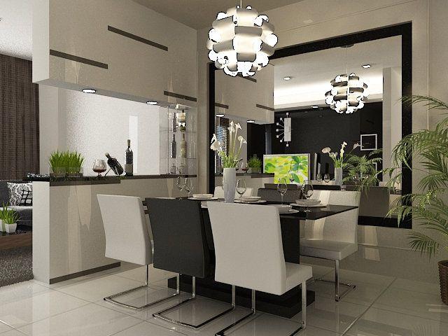 Malaysia Dining Hall Interior Design