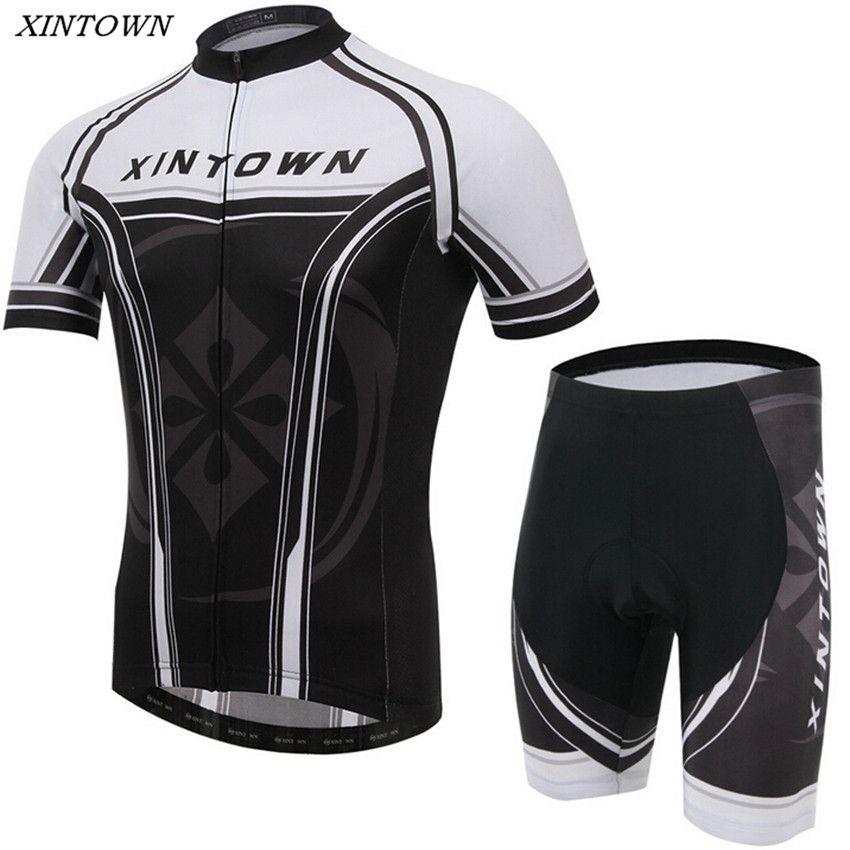 Xintown Cycling Jersey Top Bike Racing Short Sleeve Outdoor