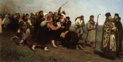 Religious Procession - Ilya Repin
