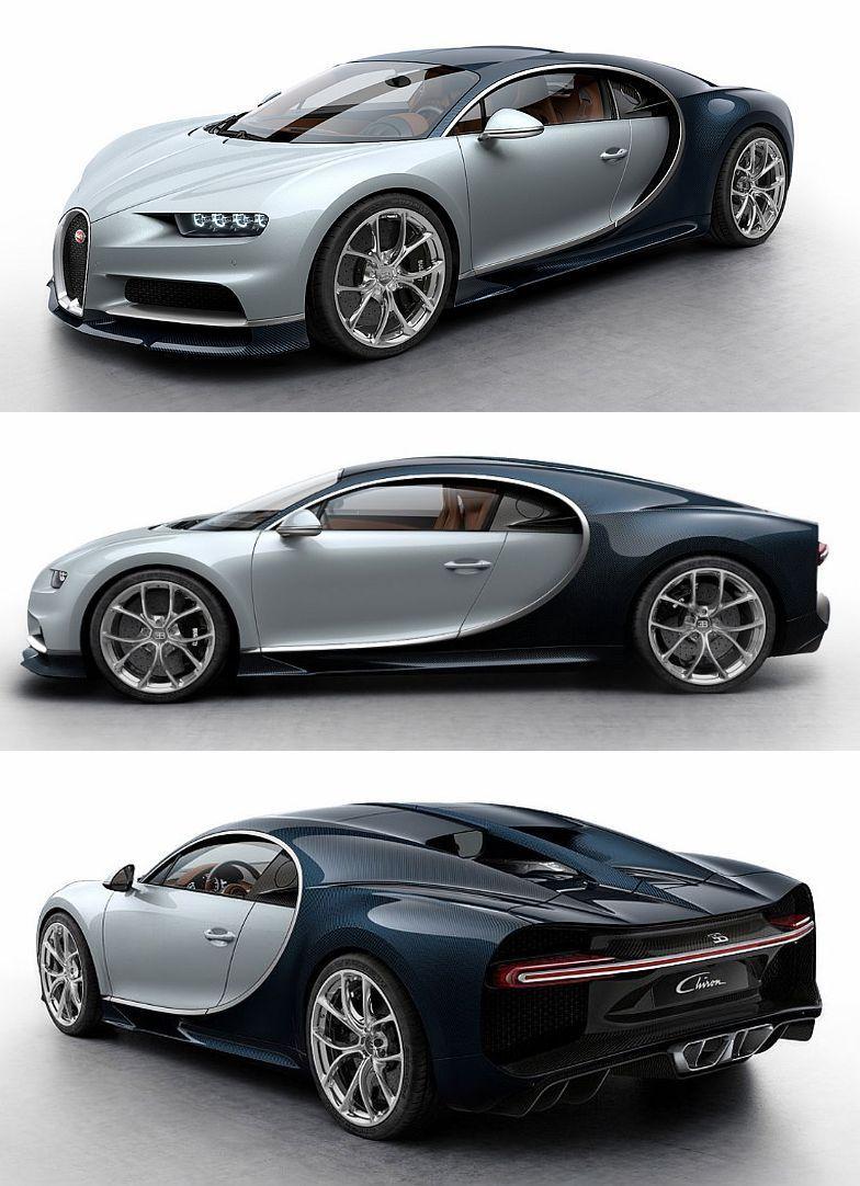 Bugatti Chiron Mobil Keren Mobil Sport Mobil