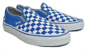 c06d38e346f Vans Classic Slip-on Blue White Taxi · Fresh sneakers and vintage ...