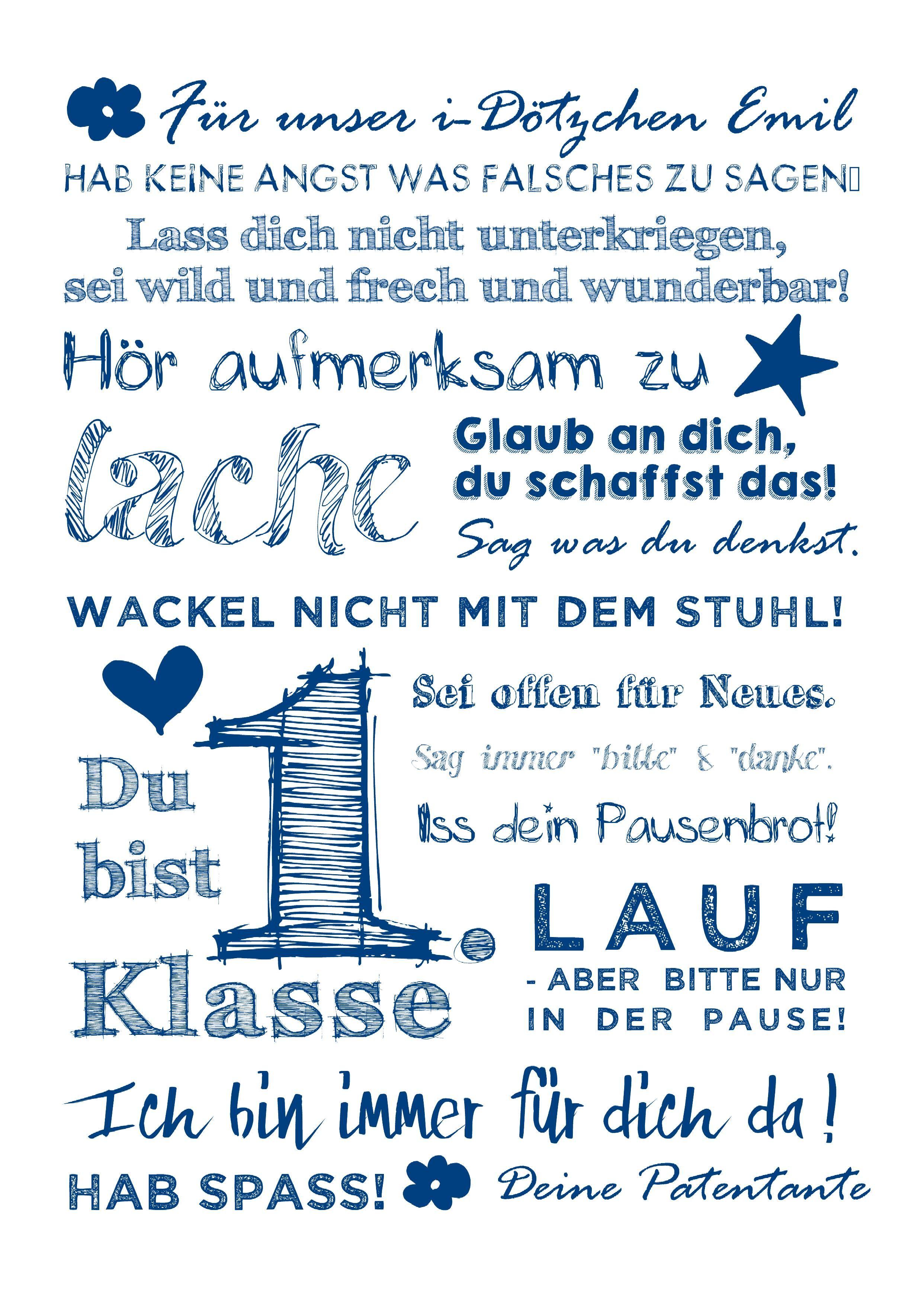Photo of Poster SCHUL-BOTSCHAFT FÜR DICH