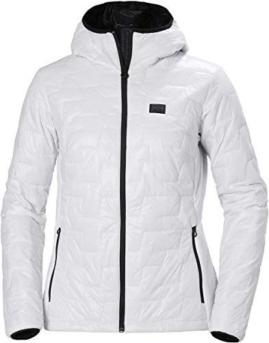 Best Seller Helly Hansen Women's LIFALOFT Hooded Insulator Jacket, 001 White, X-Large online #leatherjacketoutfit