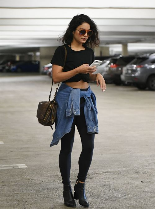 good outfits mit schwarzer leggings women
