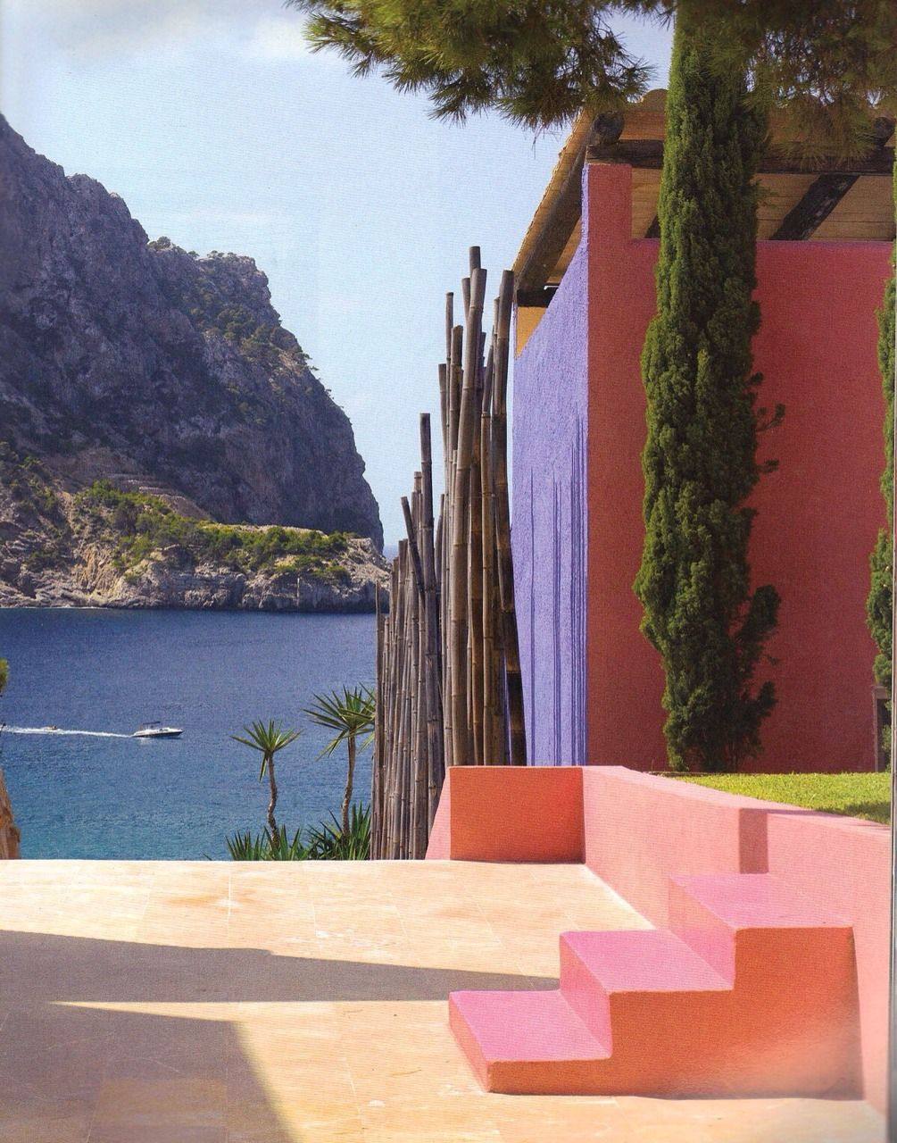 Architecture of Luis Barragan. 'Colores Calidos'. Colour