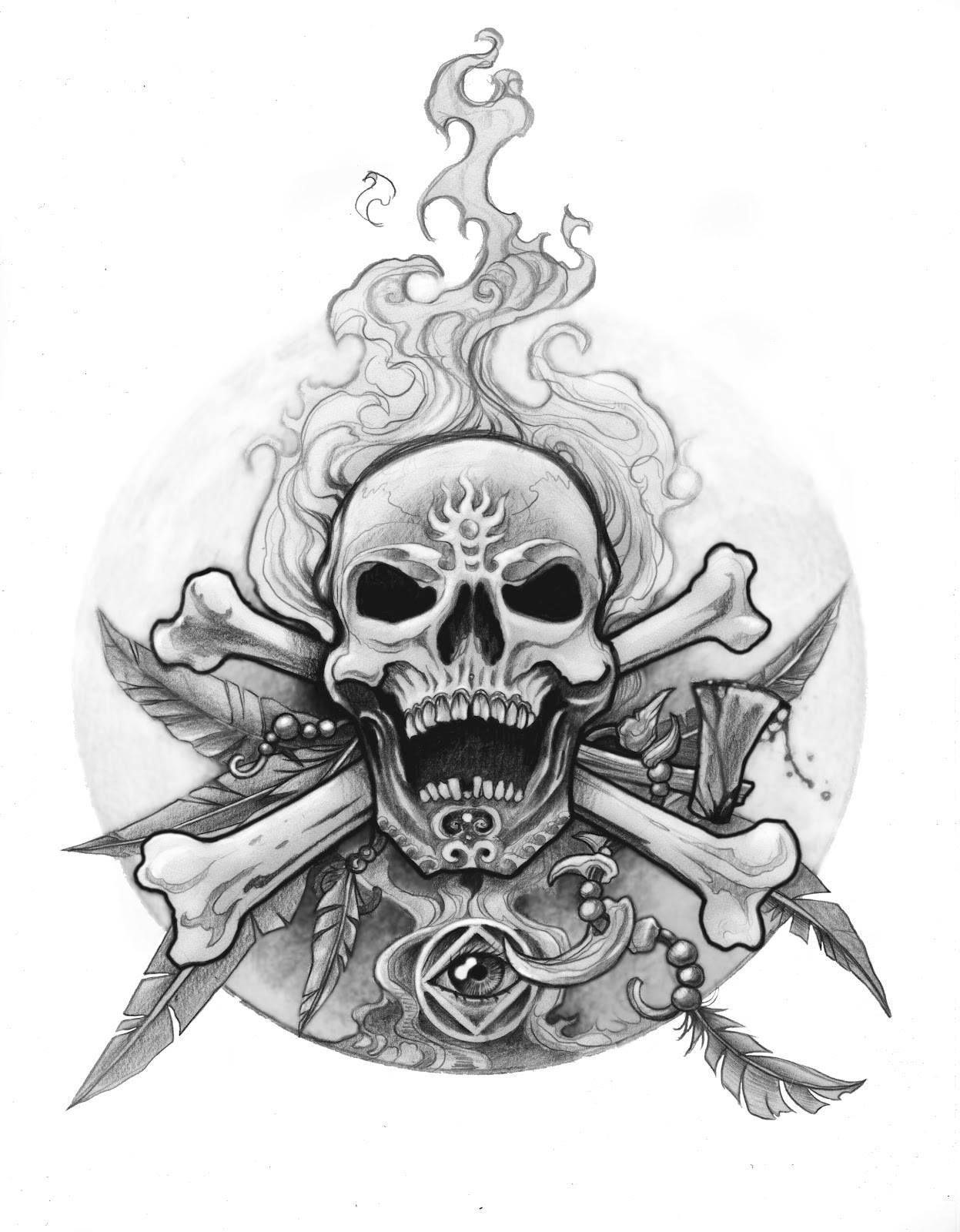 fd37c472feb0 Old Traditional Tattoo, Tattoo Designs, Tattoo Ideas, Skull Sketch, 1st  Century,