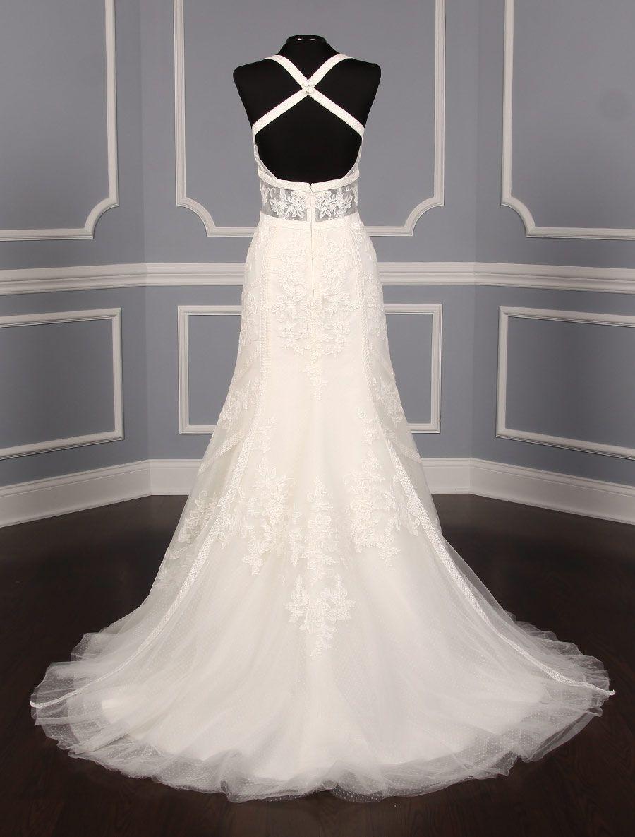 Anne barge calliandra wedding dress blue willow bride formal wear