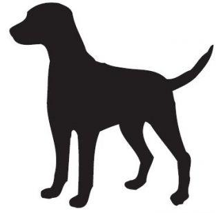 16 best photos of simple dog outline dog outline clip art easy rh pinterest com dog paw print outline clip art dog paw print outline clip art