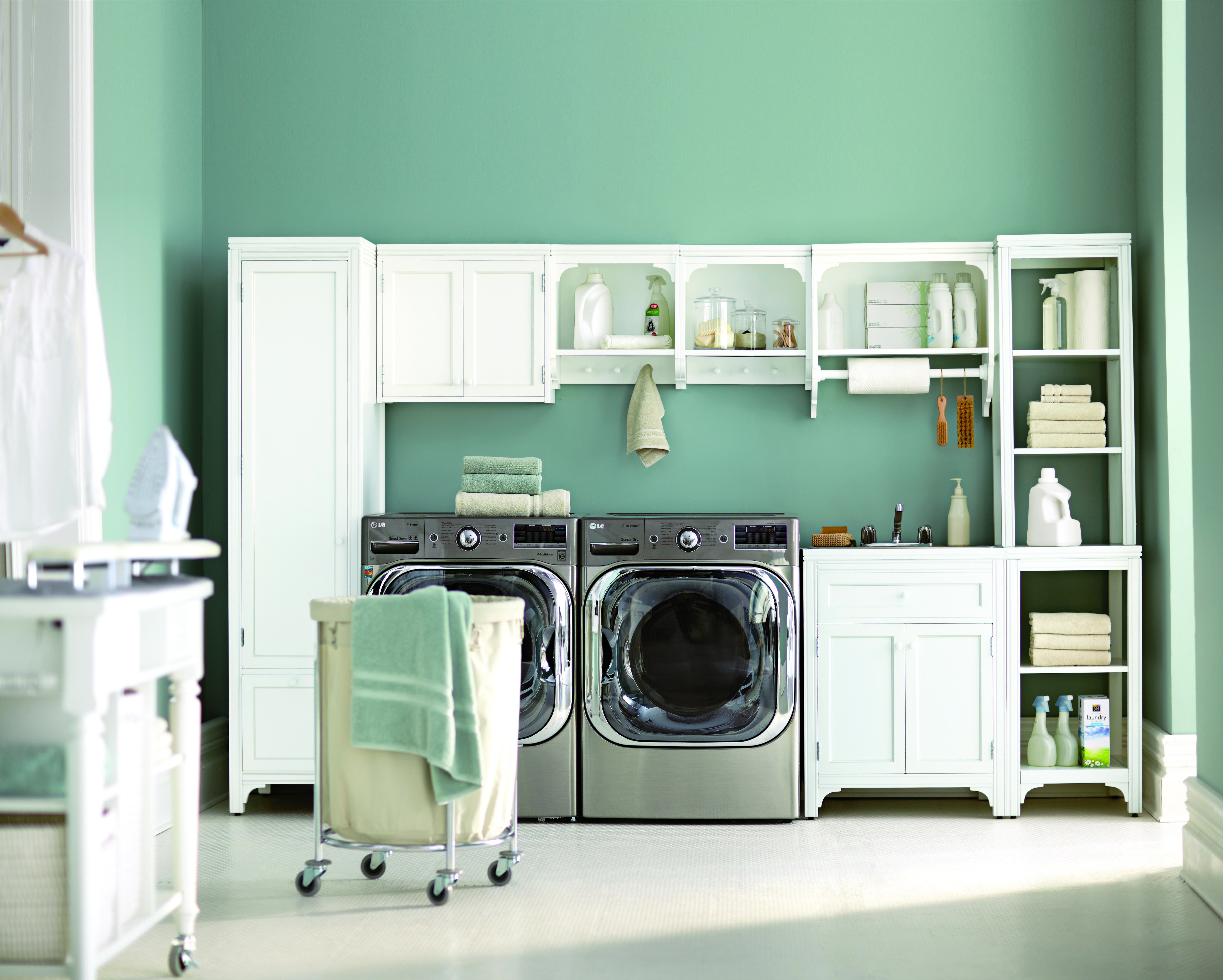 Get Organized And Maximize Space In Your Laundry Room With