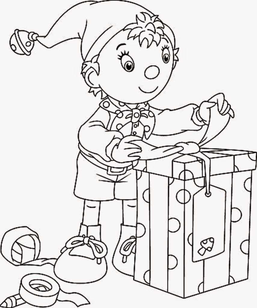 Presents Coloring Pages Christmas Coloring Pages Preschool