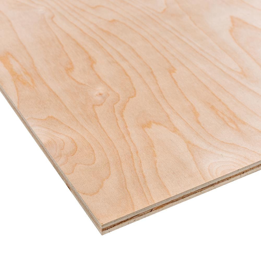 1 5 In X 4 Ft X 8 Ft Hardwood Plywood Underlayment Specialty Panel 431178 Birch Plywood Hardwood Plywood Plywood