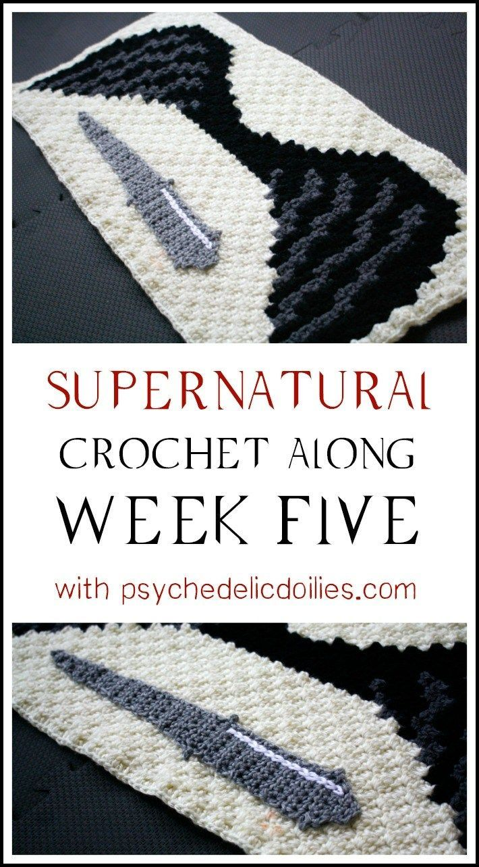 Supernatural CAL - Week 5 | Proyectos que debo intentar | Pinterest ...