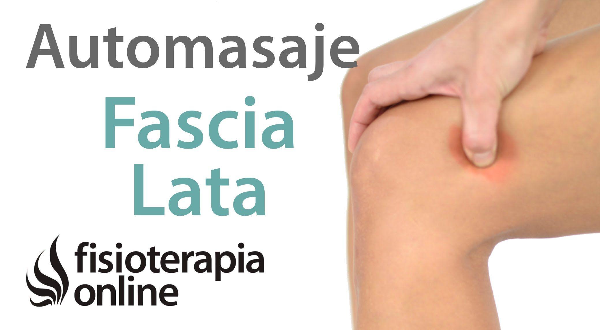 Tendinitis Del Músculo Tensor De La Fascia Lata Auto Masaje Para Su Tra Automasaje Ejercicios Para Rodillas Y Tendinitis