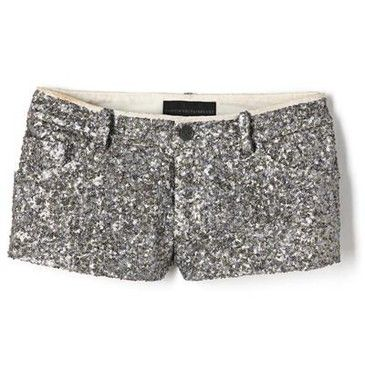 Sparkly shorts!