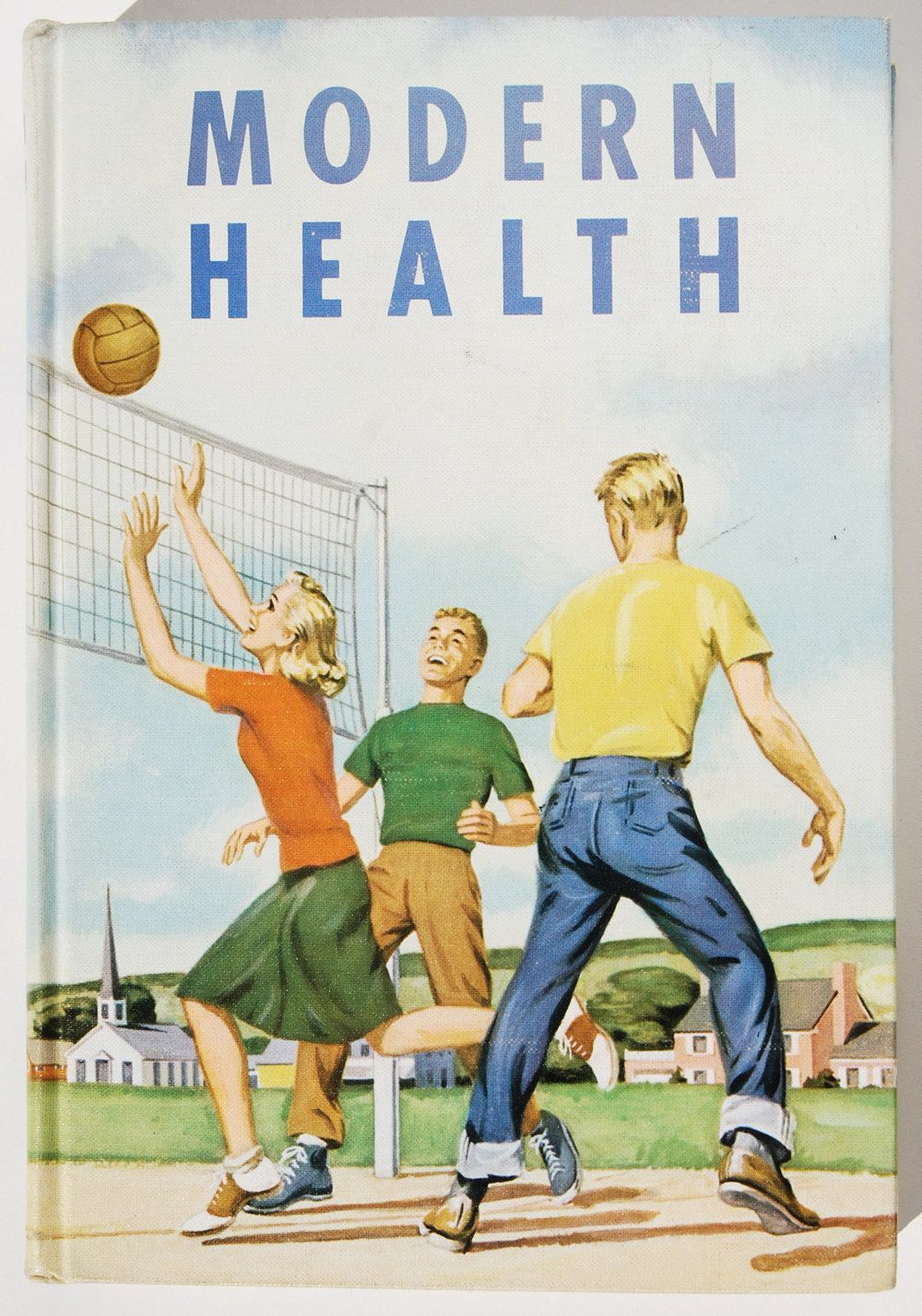 Vintage 'Modern Health' Book, Science. Health books