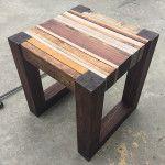 DIY Scrap wood side Table Plans - 3 (1)