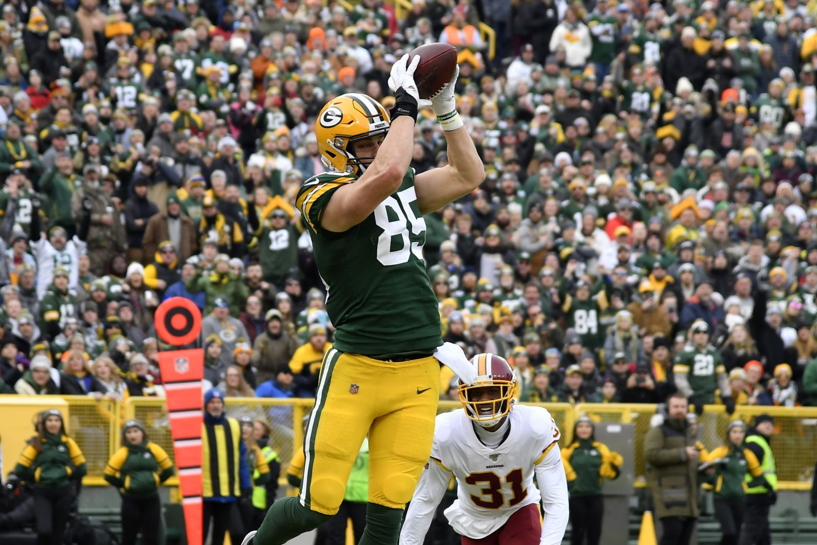 Green Bay Packers Robert Tonyan Should Be More Involved On Offense National Football League News Nfl News National Football League Football League