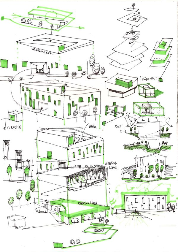 3d Sketch New York Conceptual Architecture On Behance Conceptual