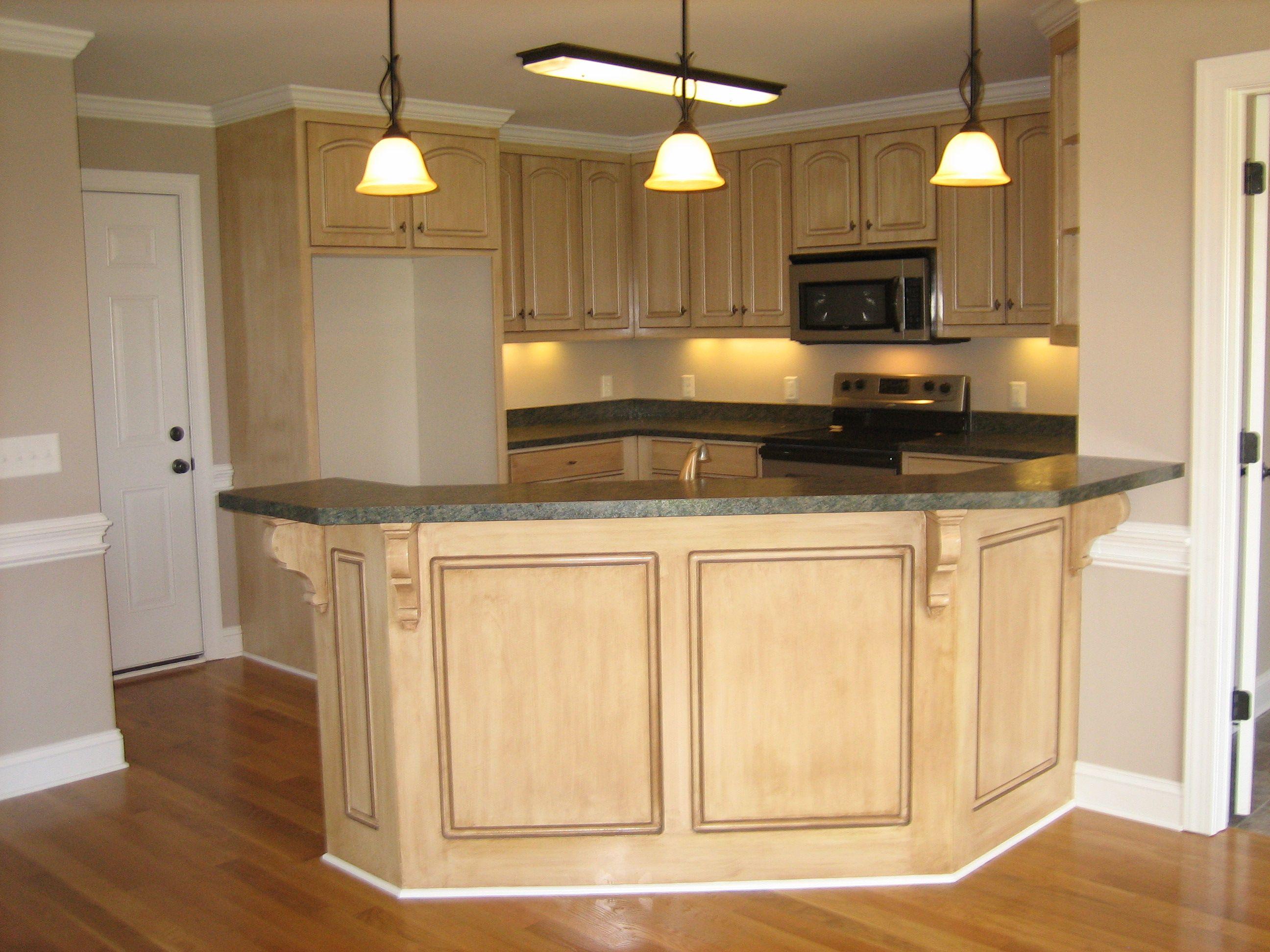Counter Back Idea Kitchen Custom Homes Home