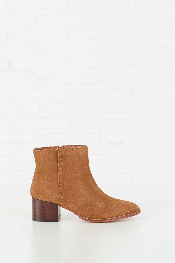 e478df79 Springfield BOTÍN SERRAJE TACÓN marrón | moda in 2019 | Botines ...