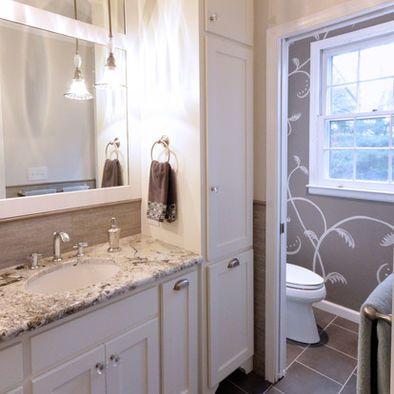 New Bathroom Vanity and Linen Cabinet