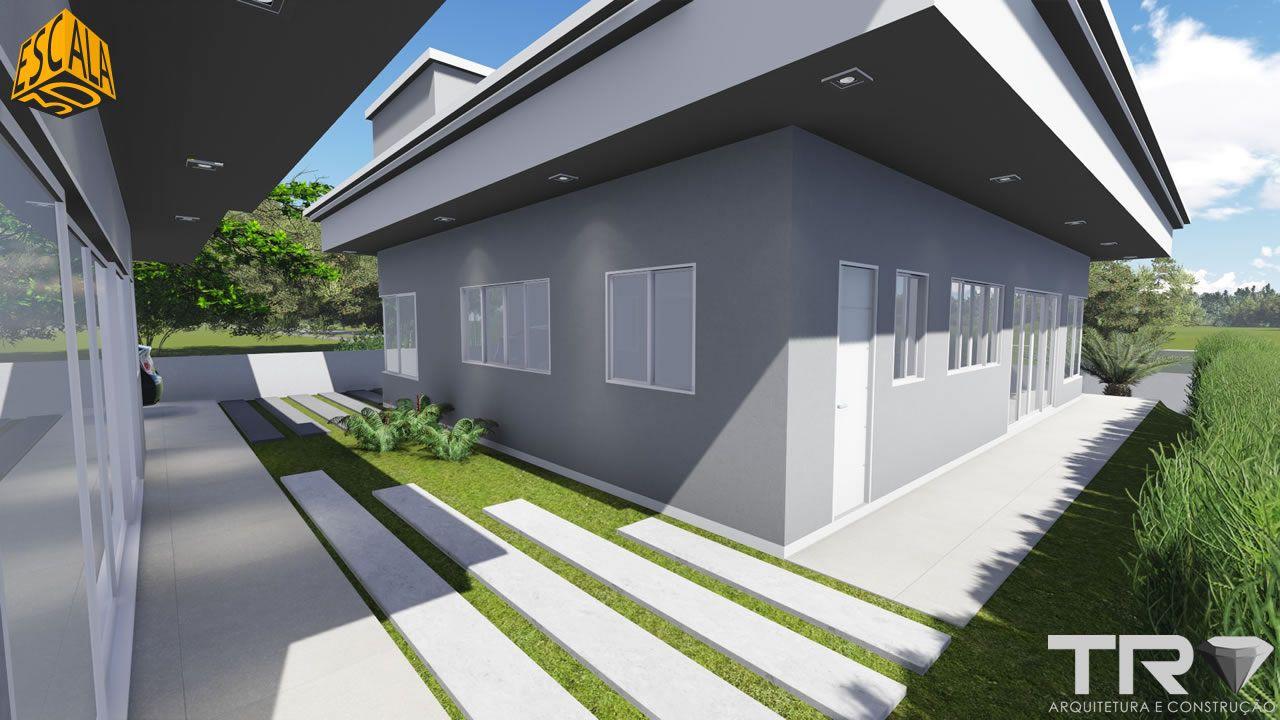 Residência Térrea 3D