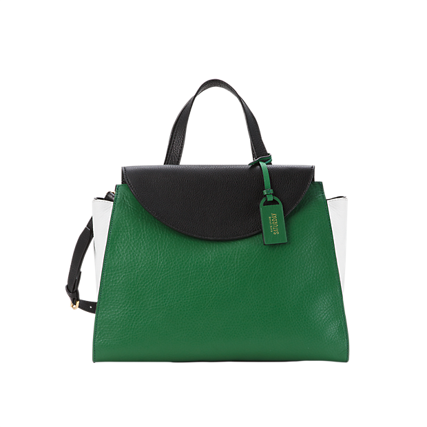 7 Looks That Have Us Crushing On Green Bags via @WhoWhatWear