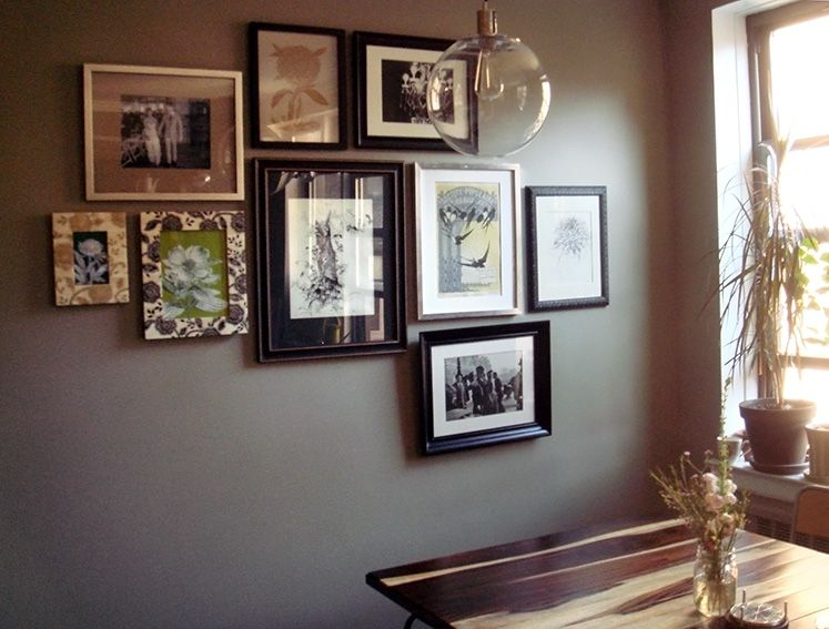 Picture Frame Accent Wall Picture Frames Frame Accent Wall