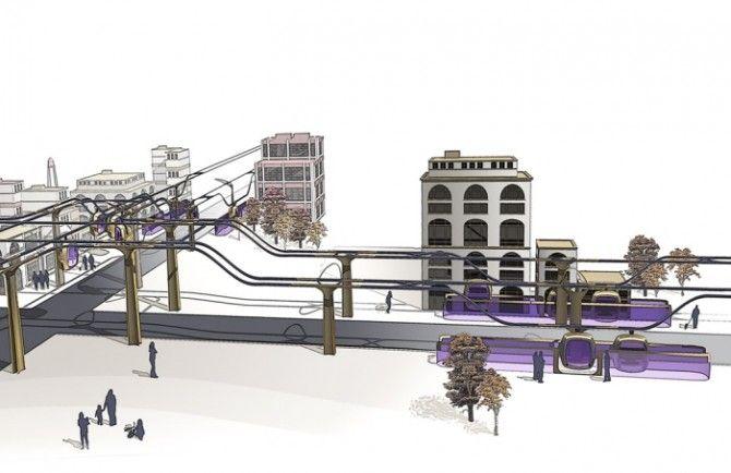 Dream Commute: Private Solar Pods on Public Transport