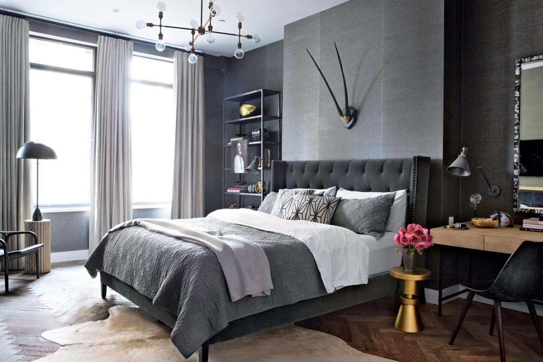 How to create the true gentlemanus bachelor pad doors grey living