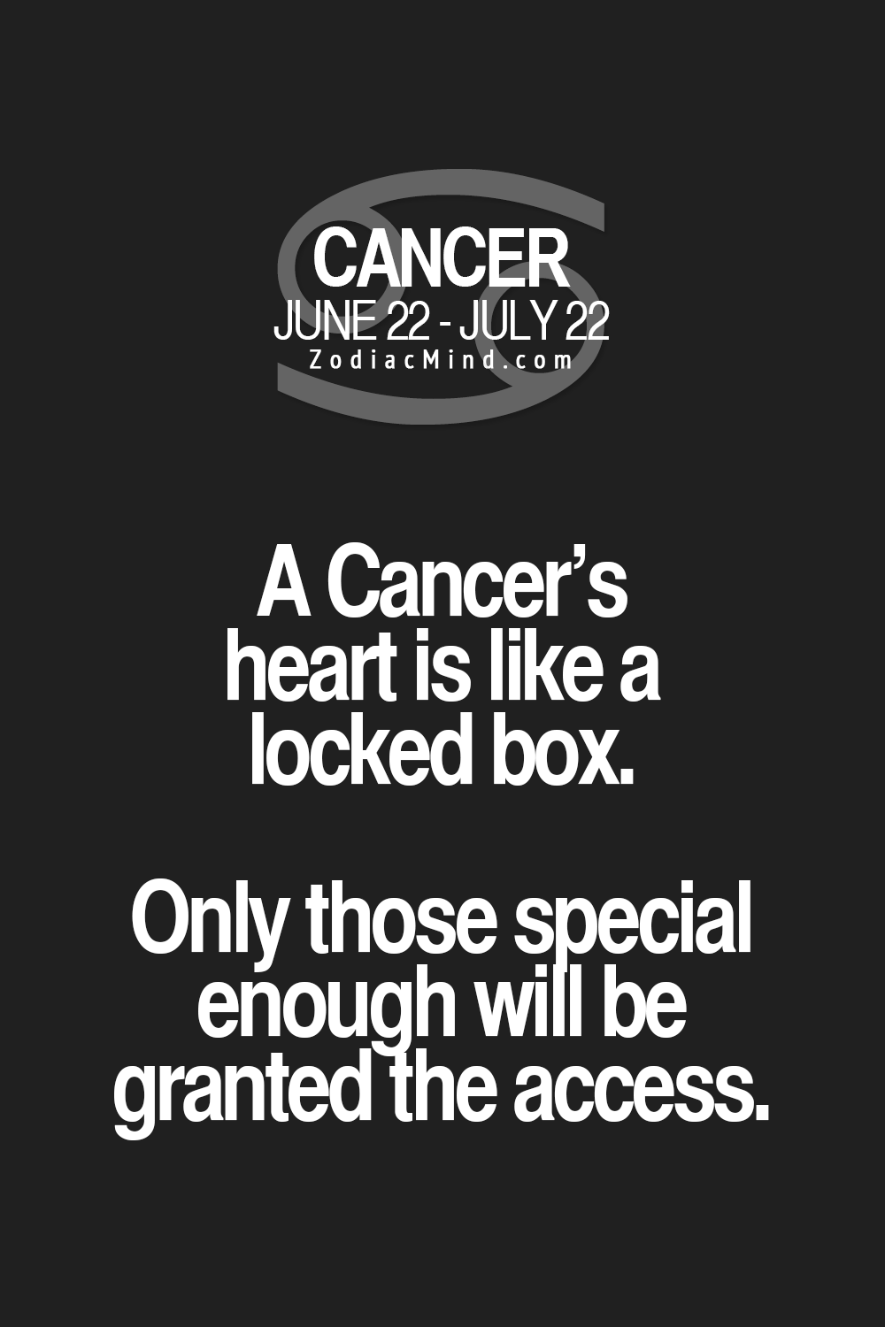 astrology cancer facts