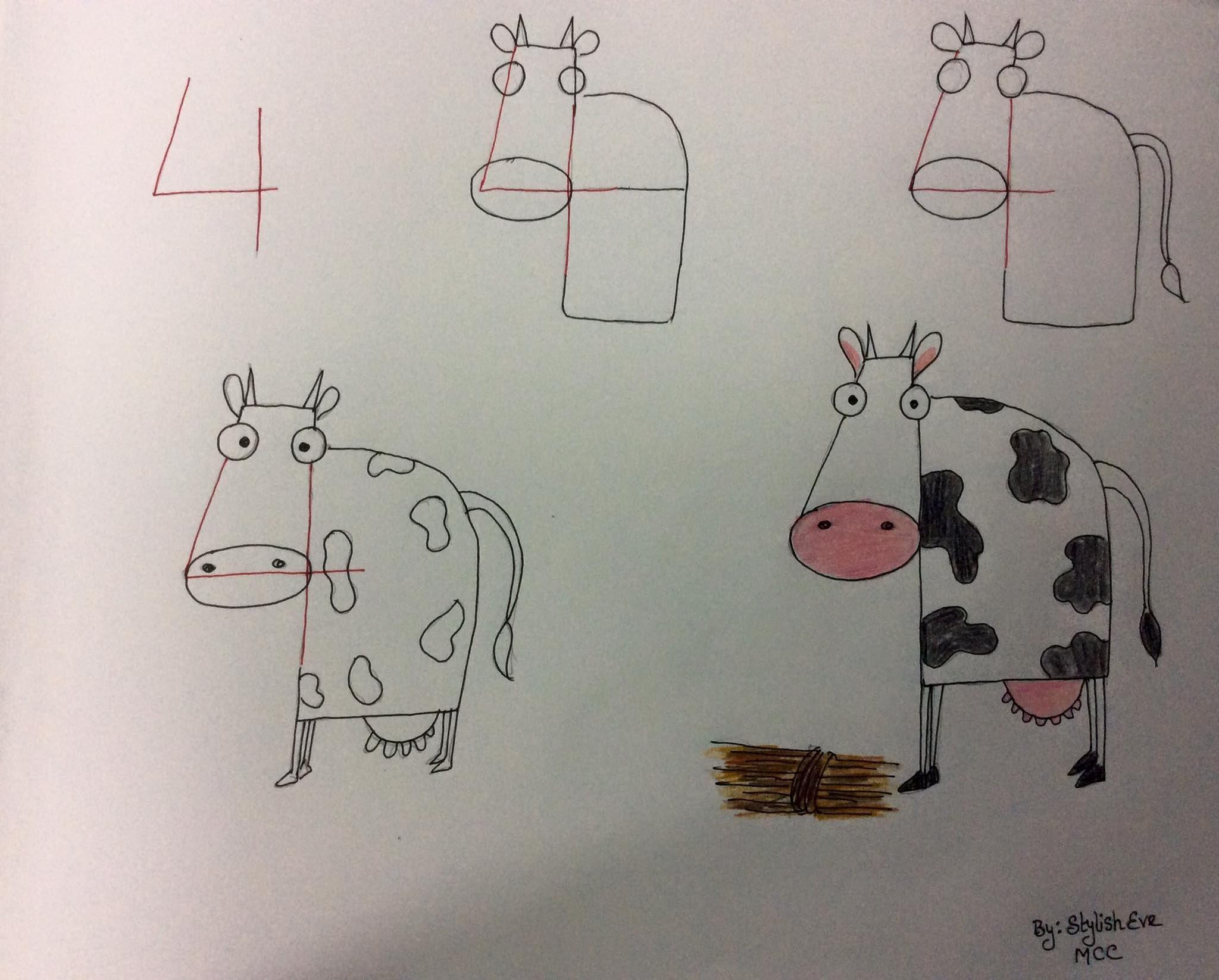 Enseña a los más peques a dibujar a partir de números y letras | Enseñar a  dibujar, Aprender a dibujar animales, Aprender a dibujar