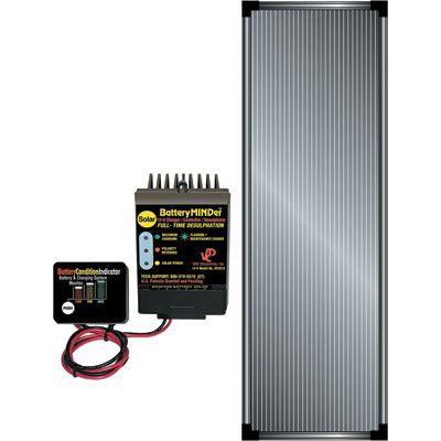 Batteryminder Solar Battery Charger Trickle Charger Desulfator 12 Volt 1 25 Amp Includes 15 Watt Solar Panel Model Scc 015 Solar Charging Solar Battery Charger Solar Equipment