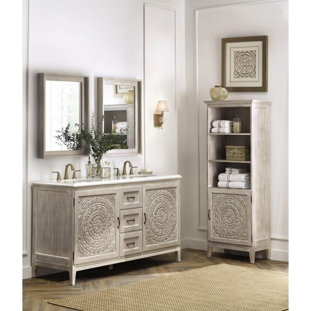Home Decorators Collection Ashburn 36 In W X 21 75 In D Vanity Cabinet In Grey Asgra3621dr The Home Depot Full Bathroom Remodel Small Bathroom Renovations Bathroom Makeover