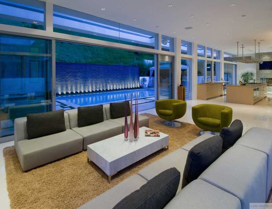Modern Living Room Besides The Pool | Furniture | Pinterest | More ...