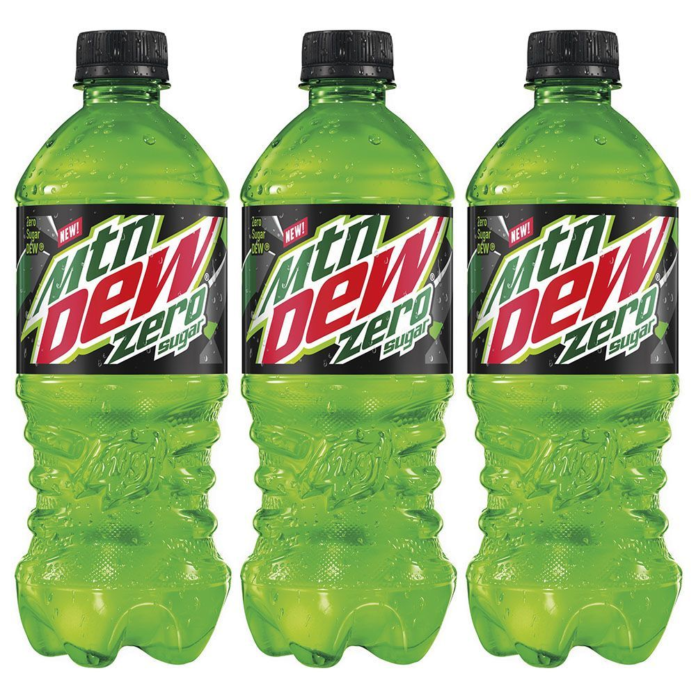 Mountain Dew Just Unveiled A Zero Sugar Soda That Tastes As Good As The Original Mountain Dew Mtn Dew Flavors Diet Mountain Dew