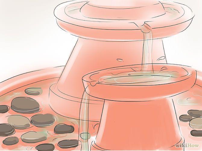Fabriquer Une Fontaine Fontaine Decorative Fontaine