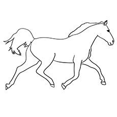 Top 55 Free Printable Horse Coloring Pages Online | Horse ...