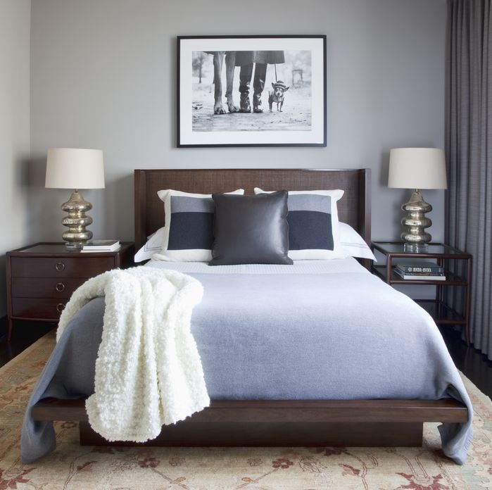 Contemporary bedroom decorating how to diy home decor - Cheap decorating ideas for bedroom walls ...