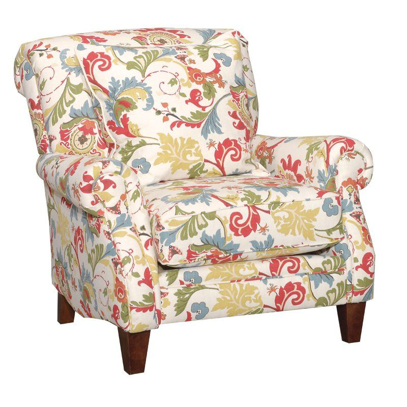 floral accent chairs with arms