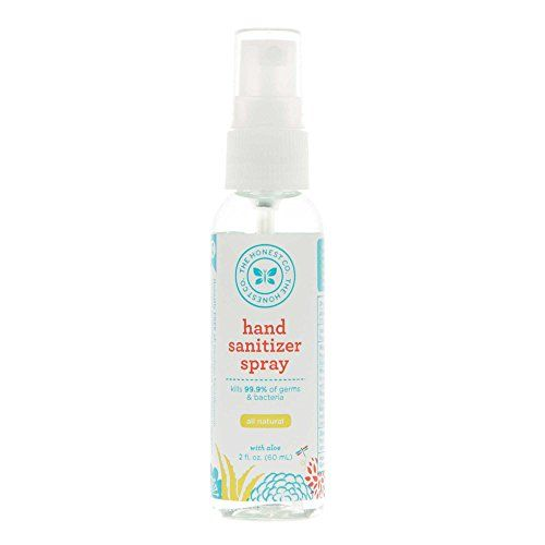The Honest Company Hand Sanitizer Spray Grapefruit Grove 2 Fl