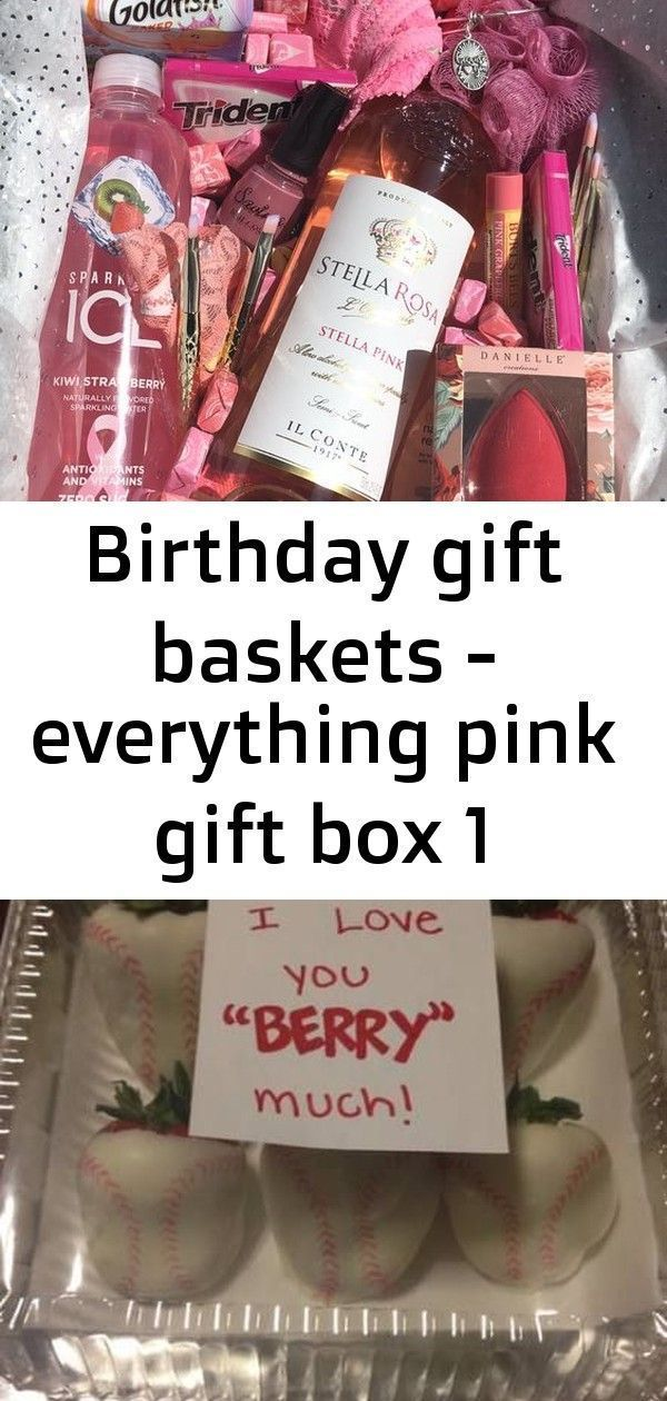 Birthday gift baskets – everything pink gift box 1 Birthday Gift Baskets – Ever…