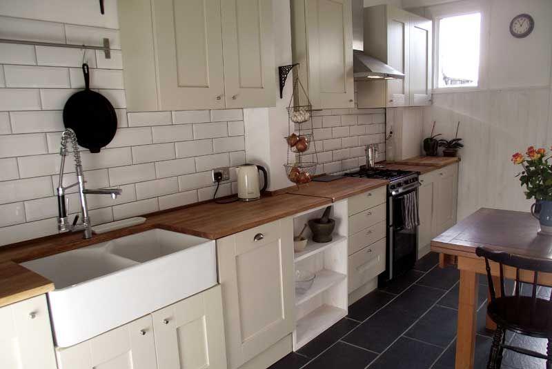 Diy Kitchens an innova malton painted mussel kitchen - http://www.diy-kitchens